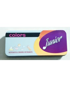 COLORS JUNIOR MATHEMATICAL DRAWING INSTRUMENT BOX